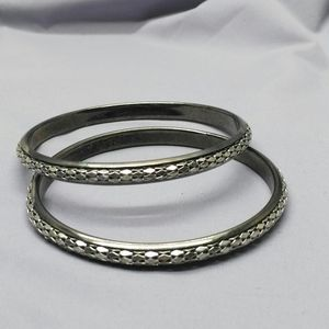 Chains on a band bangles